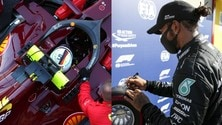 Qualifiche Gp Toscana Ferrari 1000: pole n.95 per Hamilton a 1'15