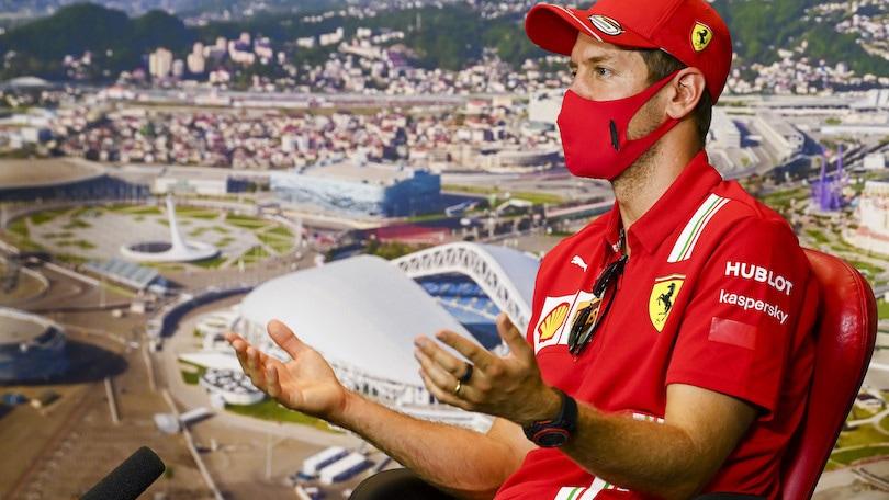 GP Russia, Vettel: 'Domenicali conosce la F1, bello se tornasse'