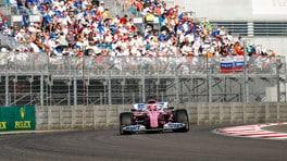 GP Russia: Perez aspetta gli aggiornamenti, sul mercato non c'è fretta