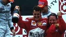 Schumacher, 20 anni fa il primo titolo in Ferrari FOTO