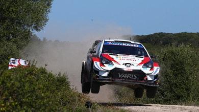 WRC, Rally Italia Sardegna: Tanak ed Evans i più veloci nello shakedown