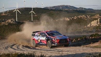 WRC, Rally Italia Sardegna: Sordo sempre in testa