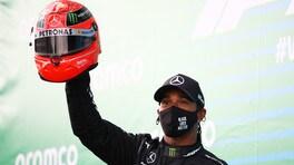 """GP Eifel, Hamilton rende omaggio a Schumi: """"Ho un enorme rispetto per Michael"""""""