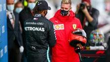 GP Eifel, Lewis fa la storia: 91 vittorie in carriera come Schumi FOTO