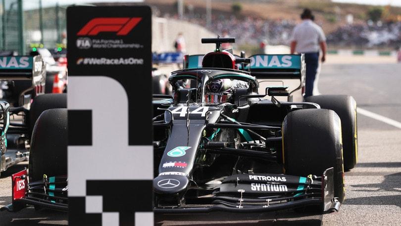 GP Portogallo, qualifiche: super Hamilton! Bottas beffato, Leclerc è 4°
