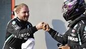 Qualifiche GP Emilia Romagna: Bottas a sorpresa schiaffa Hamilton, è tutta sua la pole di Imola FOTO