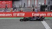 GP Emilia Romagna, Hamilton e la Mercedes in trionfo: FOTO