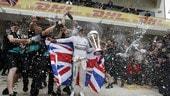 F1, Lewis Hamilton: 7 volte Campione del Mondo come Schumi VIDEO