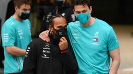 GP Bahrain, Wolff e una Mercedes spettatrice
