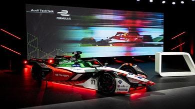 Formula E, Audi in pista con il motore fatto in casa