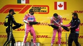 """GP Sakhir, Stroll: """"Contento per Perez, ma pensavo di poter vincere"""""""