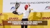 Mick Schumacher è Campione della F2: l'inizio di una bellissima favola