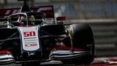 Test Abu Dhabi, Alonso e Mick Schumacher in pista