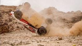 Dakar, brutto incidente per Henk Lategan