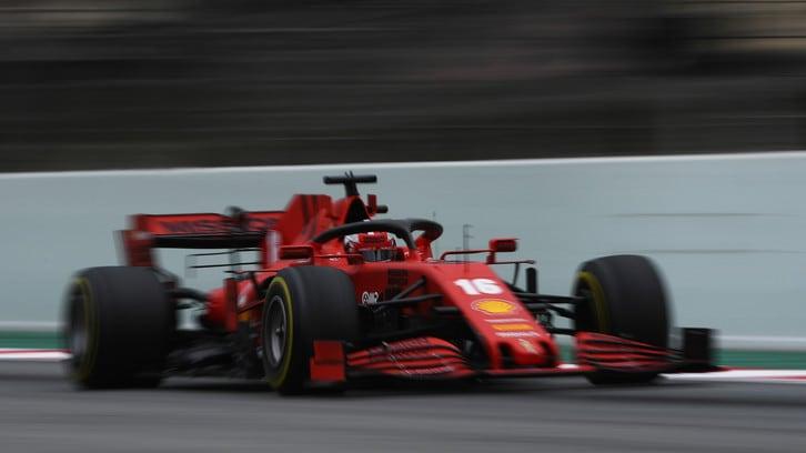 Ferrari, Sainz e Leclerc a Fiorano con una SF71H