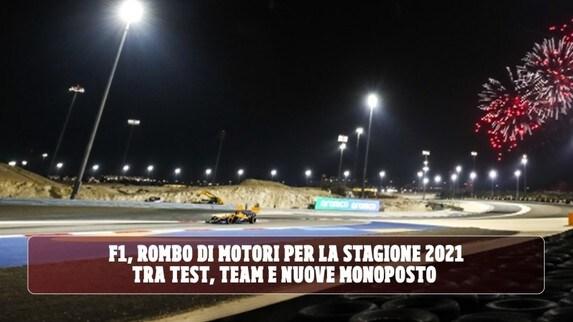 F1, Mondiale 2021: tra i test in Bahrain e nuove monoposto parte il conto alla rovescia