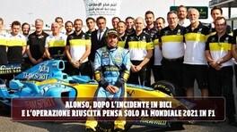 Paura scampata per Alonso dopo l'incidente: nel mirino la Formula 1 2021
