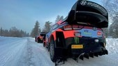 WRC, Arctic Rally Finland: a Tanak lo shakedown