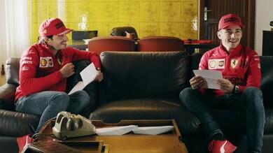 Presentazione team Ferrari: Leclerc e Sainz pronti per il Mondiale 2021