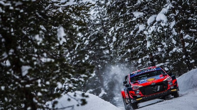 WRC, Rally Arctic: prima tappa a Tanak