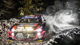 WRC, Rally Arctic: Tanak, chiude la seconda giornata da leader