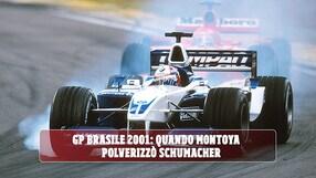 F1 GP Brasile 2001, quando Montoya mostrò i muscoli a Schumacher
