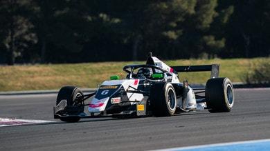 Formula Regional by Alpine: Hadjar al comando nei test