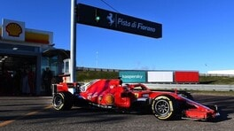 Leclerc gira a Fiorano e mette in garage la SF90