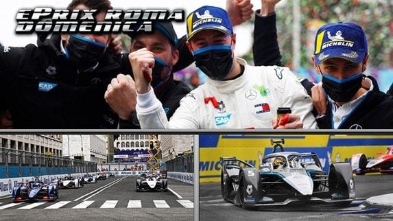 ePrix di Roma: Vandoorne top, Cassidy spreca