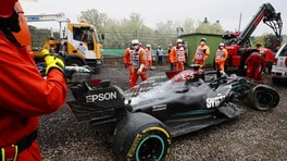 Incidente Bottas - Russell, che scintille tra i due