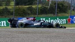 Lewis crea pericolo in retro contromano e tutto va bene?