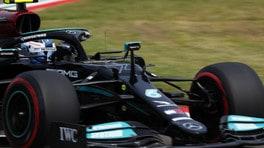 Incidente Bottas, Mercedes: danni ingenti, power unit sotto osservazione