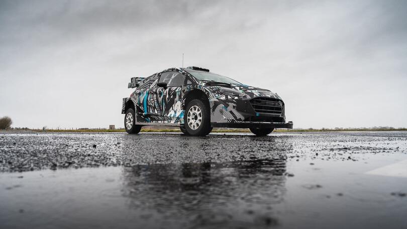 Ford Fiesta Rally1, ecco le prime foto dell'ibrida M-Sport