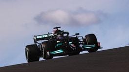 """Hamilton: """"GP Portimao difficile, ma ho azzeccato l'attacco a Max"""""""