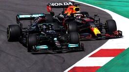 Hamilton e Verstappen: rispetto reciproco, tutto l'anno come in Portogallo