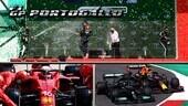 GP Portogallo: Hamilton sbrana tutti, Ferrari soffre nel meglio e peggio di Portimao