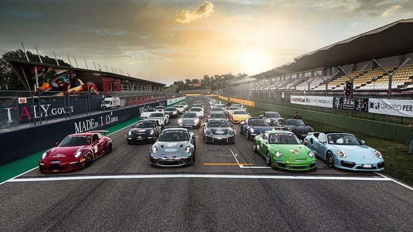Porsche Club GT, bagarre a Imola