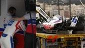 GP Monaco, Mick Schumacher va a muro e non corre le qualifiche