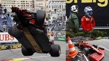 Ferrari, Leclerc pole a Monaco rovinata dall'incidente alle Piscine? FOTO