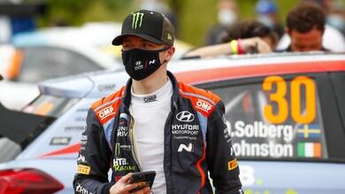 Oliver Solberg non sarà al via del Rally Italia Sardegna