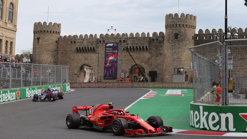 GP Azerbaijan, gli orari di Sky e Tv8 - Autosprint