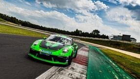 Ecco la Porsche 911 GT3cup tutta verde di Fenici