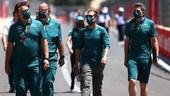 Aston Martin scopre i debrief alla Vettel
