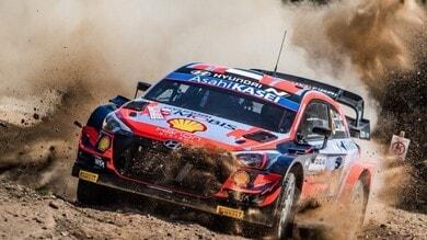 WRC, Rally Sardegna: Tanak, in testa dopo la prima tappa