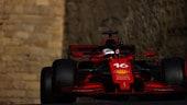 GP Azerbaijan, qualifiche: la pole di Charles Leclerc