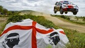 WRC, Rally Sardegna: Tanak e Sordo out, Ogier in testa