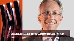 Ferrari, è ufficiale: Benedetto Vigna prenderà il posto di Camilleri