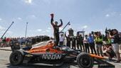 IndyCar: O'Ward vince ed è il nuovo leader della serie
