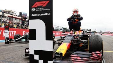 GP Francia: Verstappen, che vittoria! Battuto Hamilton, cataclisma Ferrari