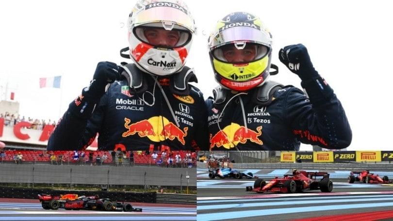 GP Francia: l'arrivo e la partenza al Paul Ricard